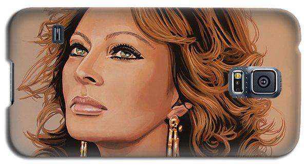 Sophia Loren 3 Galaxy S5 Case by Paul Meijering