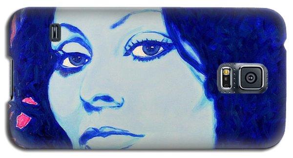 Sophia Loren Pop Art Portrait Galaxy S5 Case