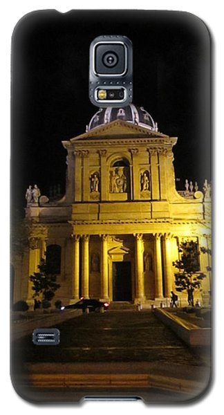 Galaxy S5 Case featuring the photograph Sorbonne Night by Christopher Kirby