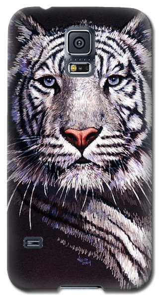 Galaxy S5 Case featuring the drawing Sorcerer by Barbara Keith