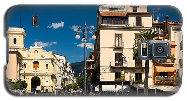 Sorrento Italy Piazza Galaxy S5 Case by Sally Weigand