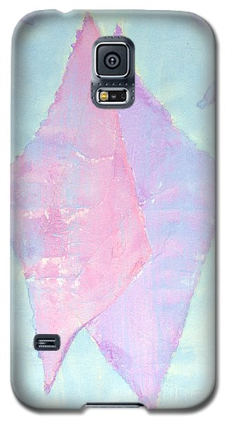 Galaxy S5 Case featuring the painting Soul Mates Meeting by Asha Carolyn Young
