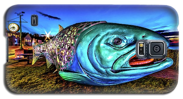 Soul Salmon During Blue Hour Galaxy S5 Case