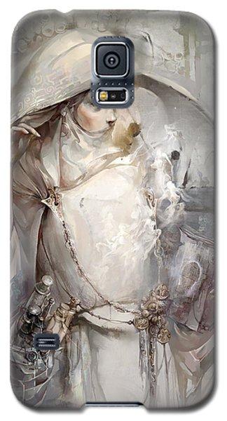 Galaxy S5 Case featuring the digital art Soul by Te Hu