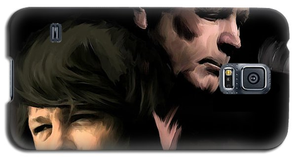 Soulful Genius Brian Wilson  Galaxy S5 Case by Iconic Images Art Gallery David Pucciarelli