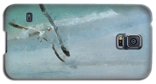 Galaxy S5 Case featuring the photograph Sound Of Seagulls by Claire Bull