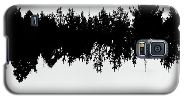Sound Waves Made Of Trees Reflected Galaxy S5 Case