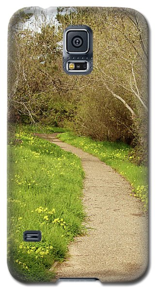 Galaxy S5 Case featuring the photograph Sour Grass Trail by Art Block Collections