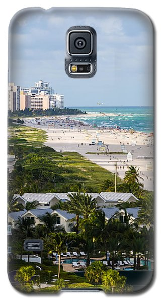 South Beach Late Afternoon Galaxy S5 Case