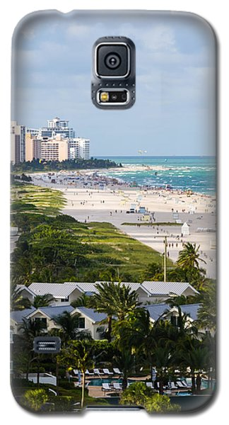 South Beach Late Afternoon Galaxy S5 Case by Ed Gleichman
