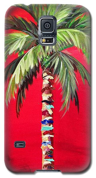 South Beach Palm II Galaxy S5 Case