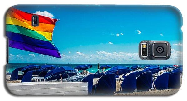 South Beach Pride Galaxy S5 Case