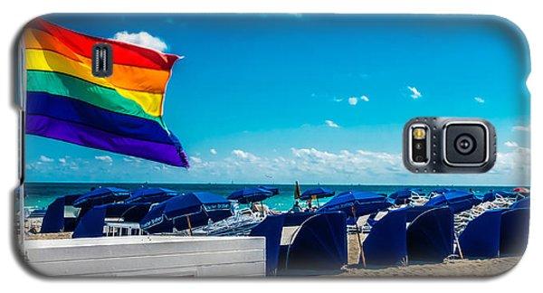 South Beach Pride Galaxy S5 Case
