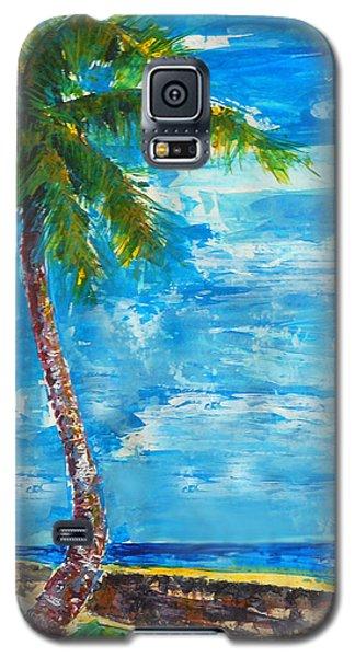 South Beach Wall Galaxy S5 Case