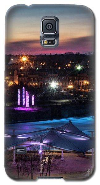 Galaxy S5 Case featuring the photograph South Bend River Sunrise by Brian Jones