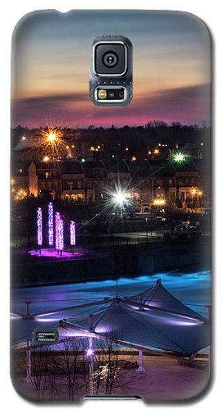 South Bend River Sunrise Galaxy S5 Case by Brian Jones