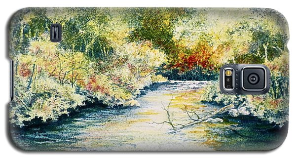 South Branch Of The Little Wolf Galaxy S5 Case