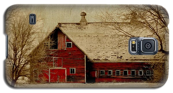 South Dakota Barn Galaxy S5 Case