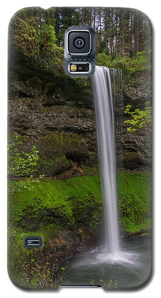 Galaxy S5 Case featuring the photograph South Falls by Jerry Cahill