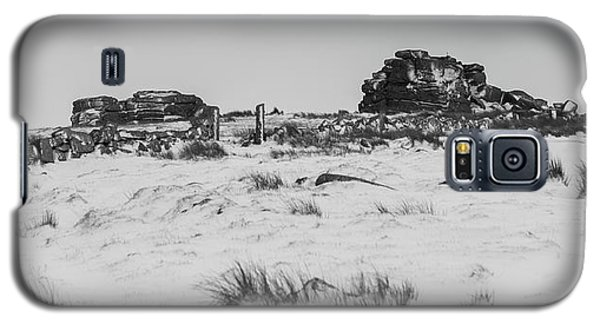 South Hessary Tor In The Snow Galaxy S5 Case