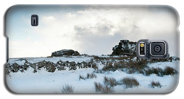 South Hessary Tor In The Snow II Galaxy S5 Case
