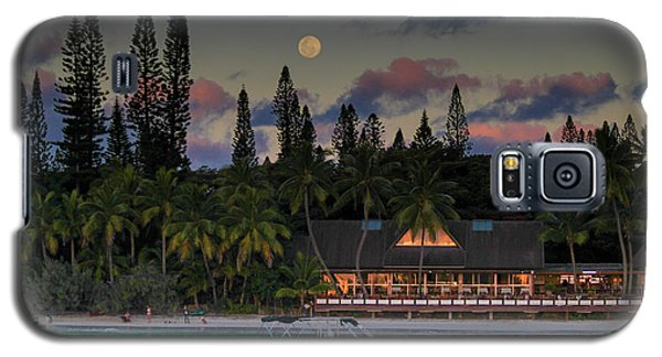 South Pacific Moonrise Galaxy S5 Case