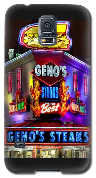 South Philly Skyline - Geno's Steaks-1 - Ninth And Passyunk In South Philadelphia Galaxy S5 Case