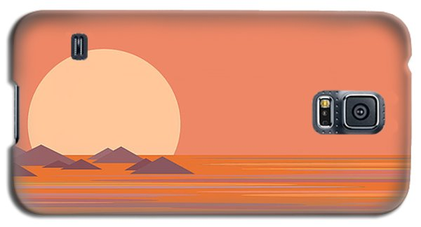 Galaxy S5 Case featuring the digital art South Sea by Val Arie