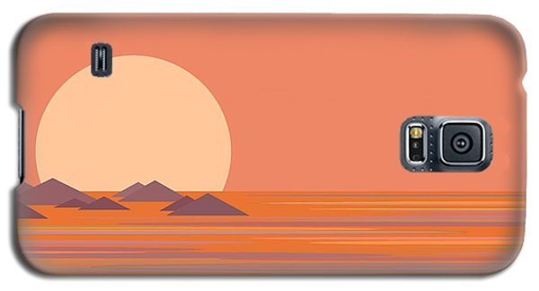 South Sea Galaxy S5 Case by Val Arie