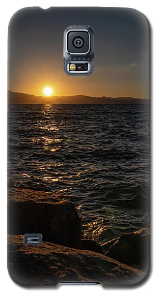 South Shore Sunset Galaxy S5 Case