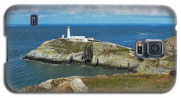 Galaxy S5 Case featuring the photograph South Stack Light House by Lynn Hughes