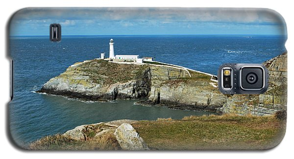 South Stack Light House Galaxy S5 Case by Lynn Hughes