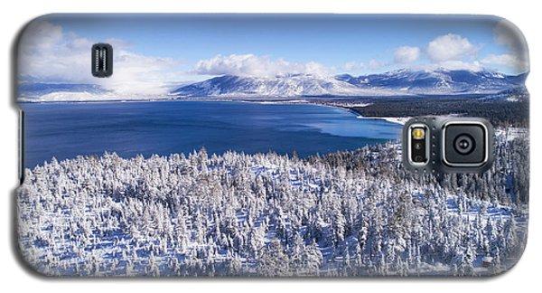 South Tahoe Winter Aerial By Brad Scott Galaxy S5 Case