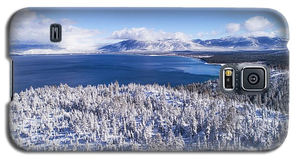 South Tahoe Winter Aerial By Brad Scott Galaxy S5 Case