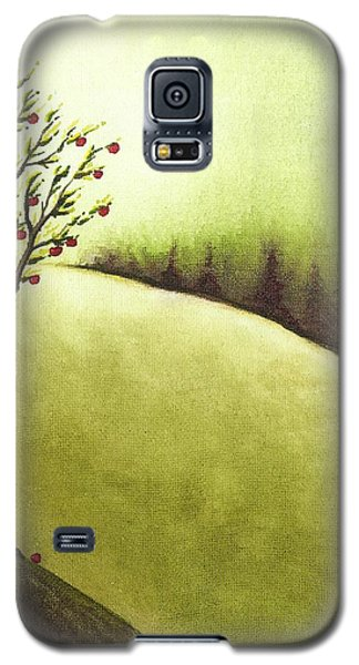 Galaxy S5 Case featuring the painting South Wind by Danielle R T Haney