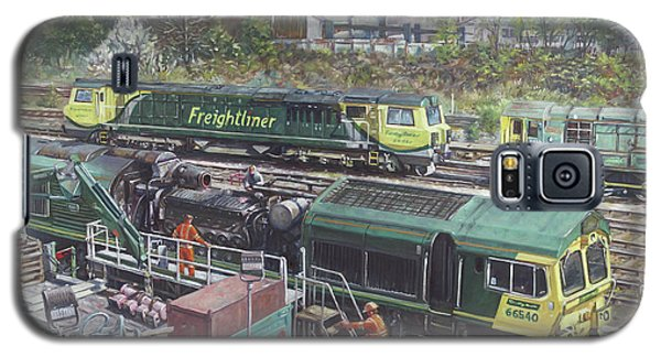 Southampton Freightliner Train Maintenance Galaxy S5 Case