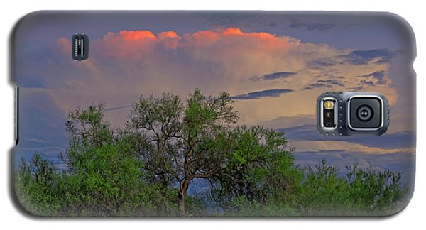 Galaxy S5 Case featuring the photograph Southeast Of Sunset H38 by Mark Myhaver