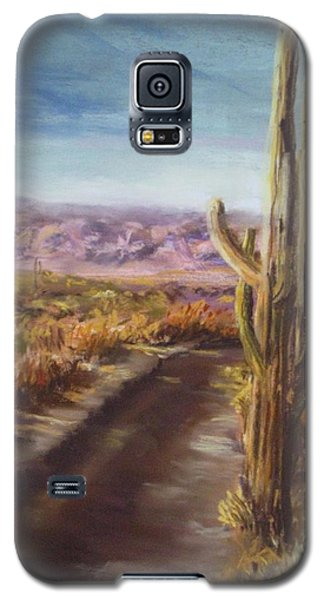 Galaxy S5 Case featuring the painting Southern Arizona by Jack Skinner