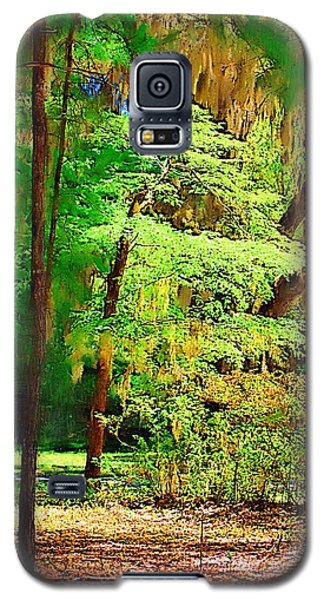 Galaxy S5 Case featuring the photograph Southern Forest by Donna Bentley