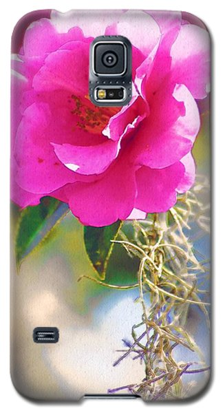 Galaxy S5 Case featuring the digital art Southern Rose by Donna Bentley