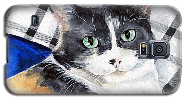 Southpaw - Calico Cat Portrait Galaxy S5 Case