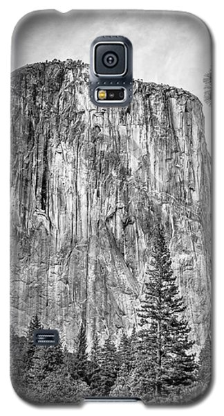Southwest Face Of El Capitan From Yosemite Valley Galaxy S5 Case