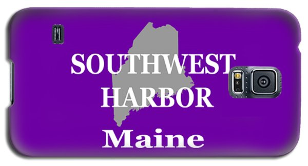 Galaxy S5 Case featuring the photograph Southwest Harbor Maine State City And Town Pride  by Keith Webber Jr