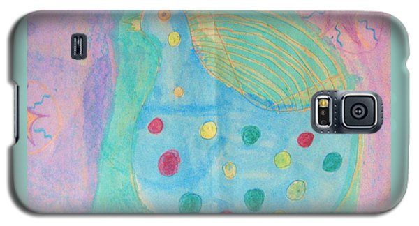 Galaxy S5 Case featuring the drawing Southwestern Chicken by Barbara Yearty