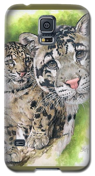 Galaxy S5 Case featuring the mixed media Sovereignty by Barbara Keith
