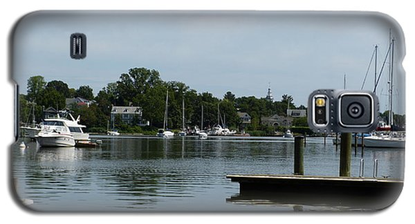 Galaxy S5 Case featuring the photograph Spa Creek From The Park  by Donald C Morgan