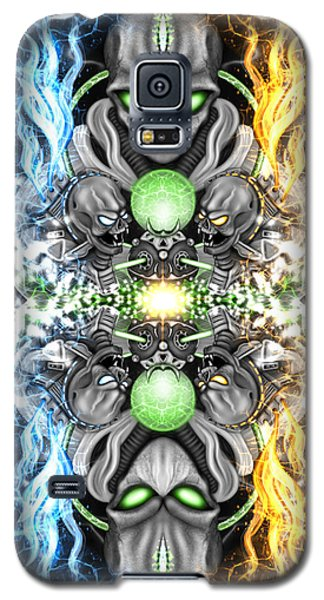 Space Alien Time Machine Fantasy Art Galaxy S5 Case