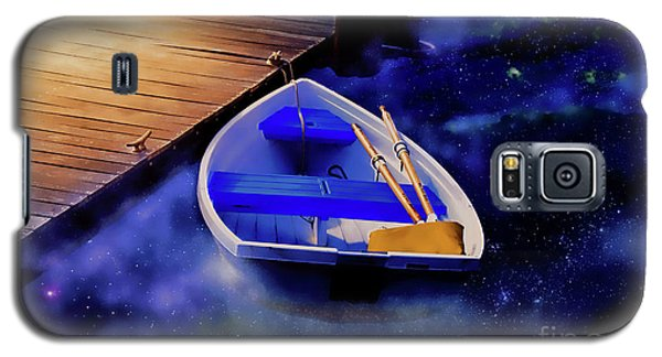Space Boat Galaxy S5 Case