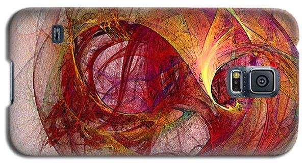 Space Demand Abstract Art Galaxy S5 Case