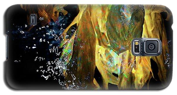 Space Flower Galaxy S5 Case